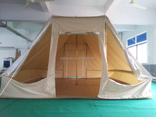 2015 new production 100% cotton canvas outdoor hunting tent