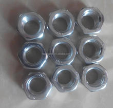 DIN934 White Blue Zinc Plated Hex Nuts, M3 M4 M5 M6 M8 M10 M12