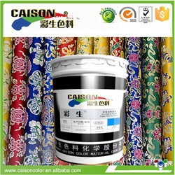 Professional manufacture T shirt printing dyeing pigment latex eco friendly