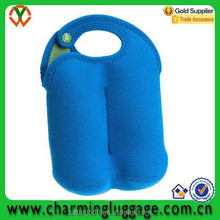 tote cheap custom fitness bottle can insulated neoprene cooler bag wholesale