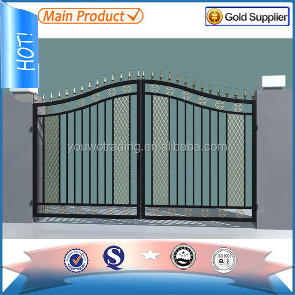 Latest Cheap Indian House Wrought Iron Steel Main Gate: Wrought Iron House Gate Designs Main Gate Colors