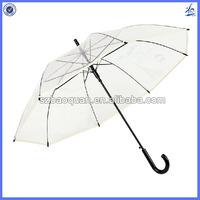 Cheap poe material clear plastic umbrella
