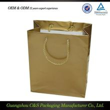 Custom Design Durable Super Quality Brown Paper Grocery Bag