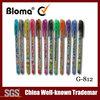 school supply good quality cheap price multi colored glitter gel ink pen set