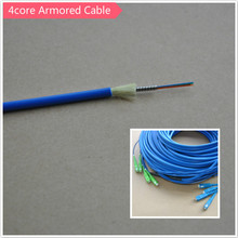 4core armored optic fiber