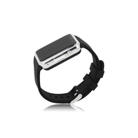 wholesale hd touch screen support qq wechat loading, Voice recorder Anti-lost bluetooth smart watch with silicon straps
