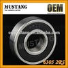 OEM Wholesales Closed 6305 2rs deep groove ball bearing