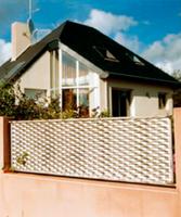 decorative used expanded metal mesh door