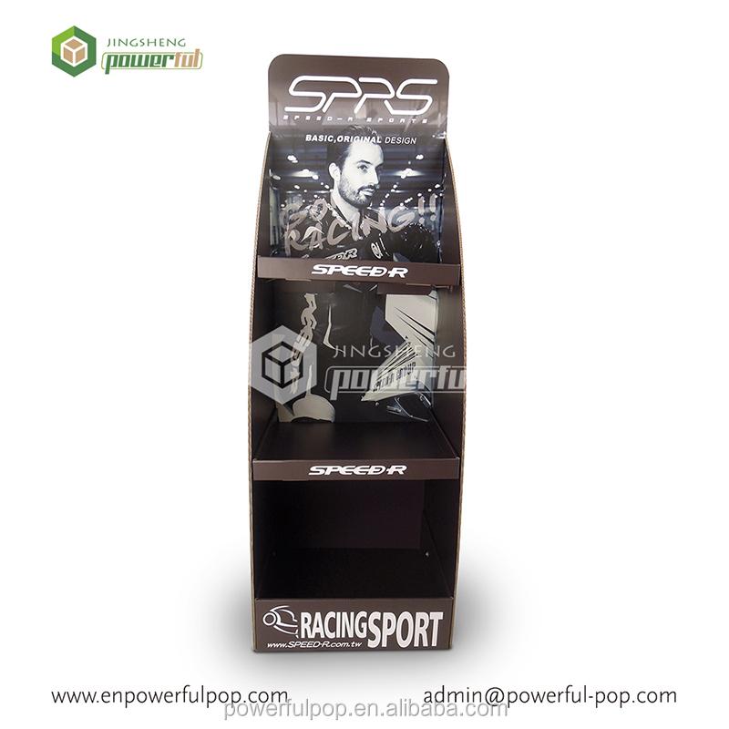 Wholesale 4c Printing Cardboard Golf Ball Display Rack