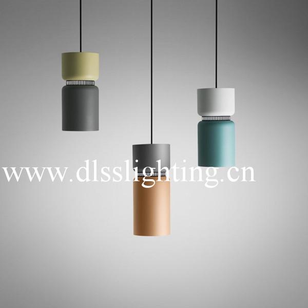 Fashion modern suspension metal hanging simple lamp for for Simple suspension hanging