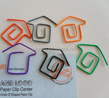 good quality free design Fancy 50 shape paper clip paper clip Eco friendly