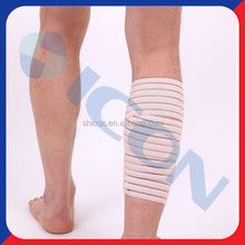 Calf support for spandex