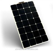 suncells for boat semi flexible solar photovoltaic module panel
