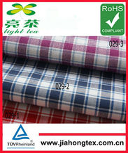 BEST QUALITY:2013 China cotton yarn dyed PLAID oxford stock fabric