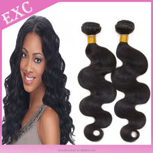 Remy indian wet and wavy hair extension,expression humanhair wefts