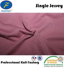 65% polyester 35% Viscose Single Jersey , blending yarn, high quality knit fabric
