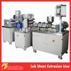 230mm Sheet Width Precise Small Sheet Extrusion Line