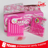 Popular Toy Candy Lovely Plastic Harp Whistle Toy Candy