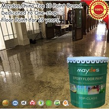 Maydos dustfree heavy duty liquid epoxy for warehouse and garage floor coating