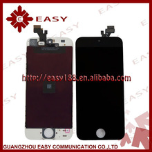 factory price for iphone 5 lcd touch screen with digitizer assembly