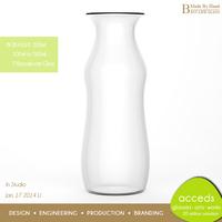 Wholesale Mini 200ml Glass Milk Bottle