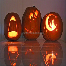factory price scary shaped foam halloween pumpkin figure for decoration