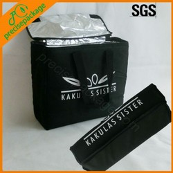high quality nylon 600D collapsible large durable cooler bag