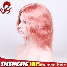 Chinese manufactury brazilian hair wig remy natural hair wig