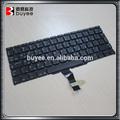Buyee teclado del ordenador portátil, para el macbook air a1370 teclado árabe diseño árabe 11 pulgadas de reemplazo