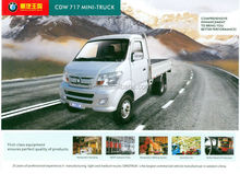 Man Diesel Engine China famous Brand SINOTRUK light 2 ton mini truck