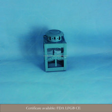 2015 new design mini stainless steel hurricane lanterns