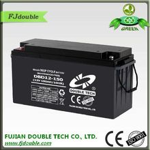 solar panels battery 12v 150ah china manufucturer with a good quality