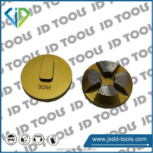 Diamond grinder for concrete and stone