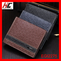 2015 new korean style brand business wallet for men