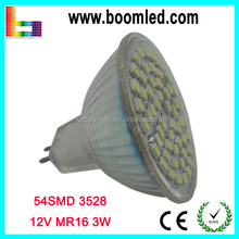 Shenzhen Factory Wholesale 12V LED Spot Light 3W MR16 GU5.3/Spot 3W MR16 LED Bulb