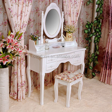 White Mirror Dressing Table Dresser Table Makeup Table Wholesale Price