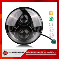Hot Sell Product Competitive Long Life-Span 75W Low/High Beam Waterproof Headlight 7 Inch Led Off Road