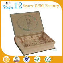 Handmake custom fake book storage box
