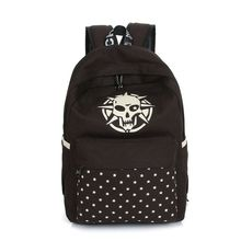 latest 2015 canvas boys and girls backpack teens school bag for teenagers (BLL017)