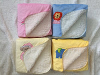 2015 hot sale Embossed sherpa baby blanket Mink an sherpa baby blanket