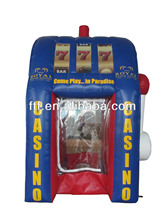 inflatable money machine/giant advertising inflatable cash,money,coupon machine for wholesales