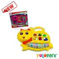 Instrumentos musicales juguete, de órganos de dibujos animados juguetes para los niños, los niños electrónico ostras