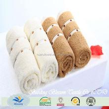 China fornecedor 100% algodão toalhas de rosto atacado