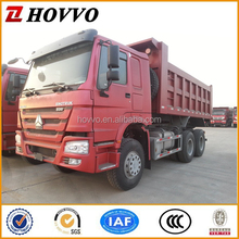 China SINOTRUK HOWO 6*4 Dump Truck Tipper Truck Left Hand Steering Vehicle