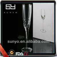 Personalized Handmade Coupe Champagne Glasses