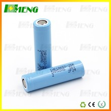Direct Selling Samsung 18650 battery cell samsung 25r 3.7v 2500mah 30a discharge wholesale