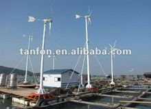wind solar hybrid power system 3kw/home solar wind power system5kw
