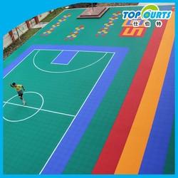 Polypropylene(PP) interlocking floor for sport