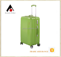 Rainbow colors ABS hard case luggage ABS trolley travel bags
