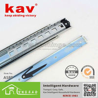 Heavy duty ball bearing furniture drawer guides
